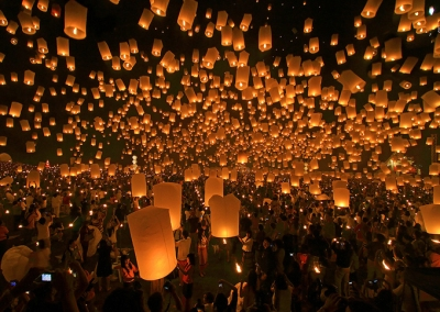 Lantern Festival, Chiang Mai, Thailand, Photography