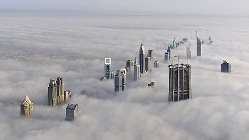 Dubai, City above the clouds photography architecture skyscrapers