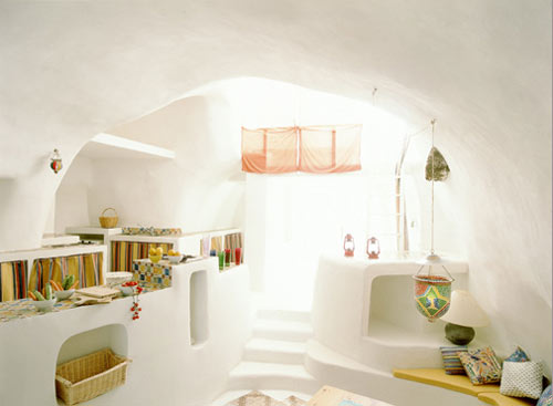 summer house architecture white rendered walls light sun