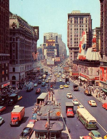 50s style mad men tv series use new york television cast advertising street photograhy