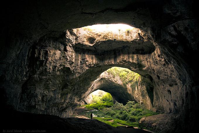 Devetashkata Cave  - Bulgaria photography, travel, destination, rock, landscape aurel manea, light, amazing places, beautiful destinations