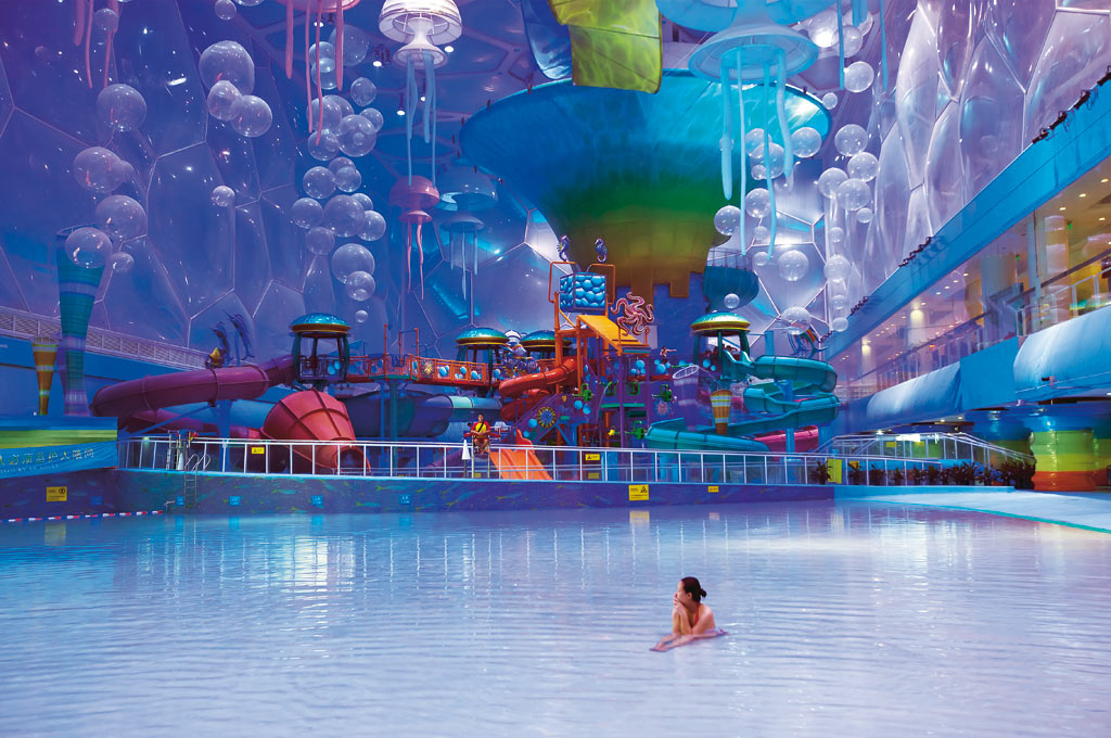 Beijing National Aquatics Center, Water Cube, China