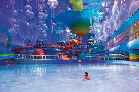 Beijing National Aquatics Center, Water Cube, China