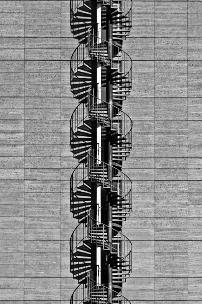 Frankfurt dna, stairs, staircase, architecture, photography, art, photo, black and white, steps, spiral