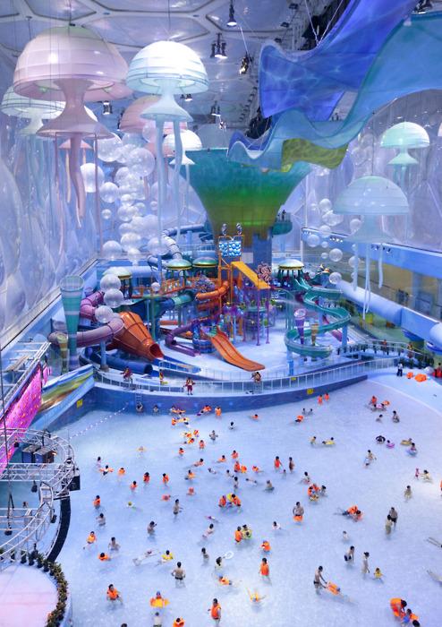 Beijing National Aquatics Center, Water Cube, China architecture, photography, art, photo cool fun siwmming pool
