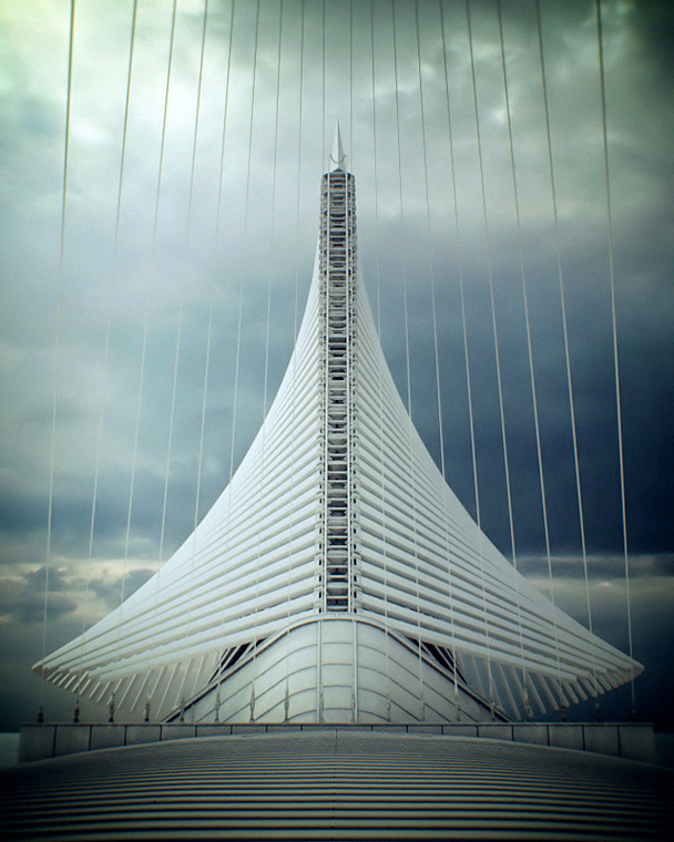 tumblr, blog, architecture, photography, santiago calatrava, milwaukee art museum, usa, amerca, organic architecture, steel, structure wings