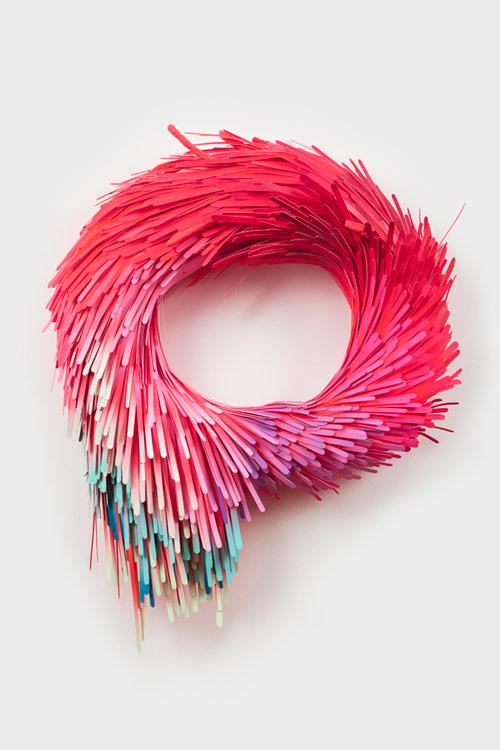 art, design, sculpture, photography, colourful, Lauren Clay, photo, wooden sticks