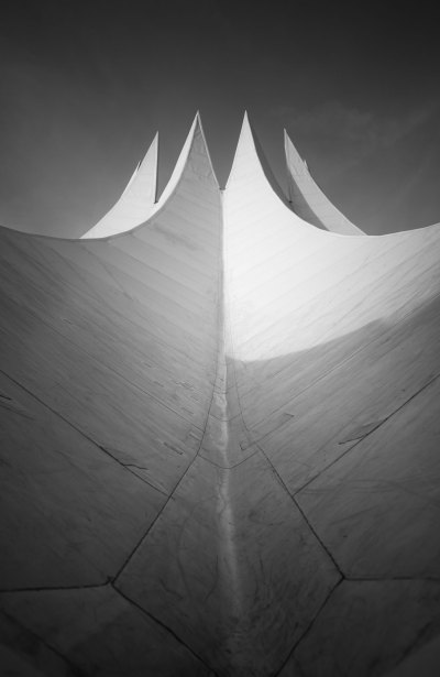 Roof of the Velodrom, Berlin Germany photography architecture organic architecture
