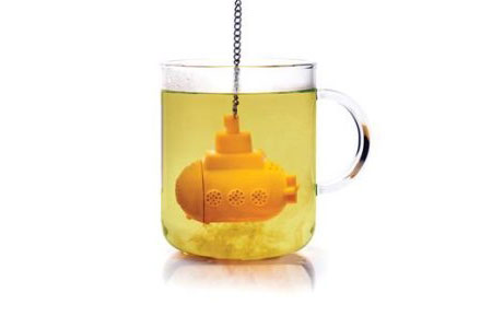 tea sub, drinking design, funny innovative product design photo