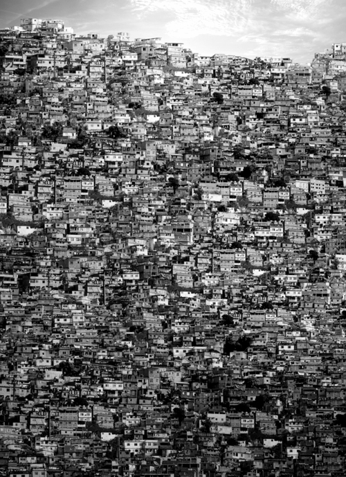 Black and white favela Collage of Fernando Alan photography, art, photo, architecture, tumblr, housing family, life, ghetty shanty town poverty poor
