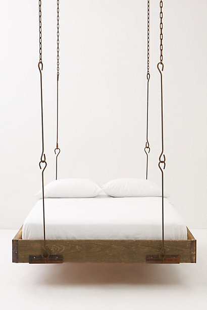 hanging bed design interior architecture furniture design chains bed hanging from the ceiling double bed home bedroom style