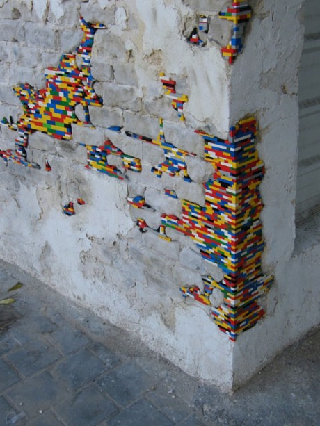 Lego Dispatchwork wall, fixing, architecture, building wall corner brick construction photo tumblr photography