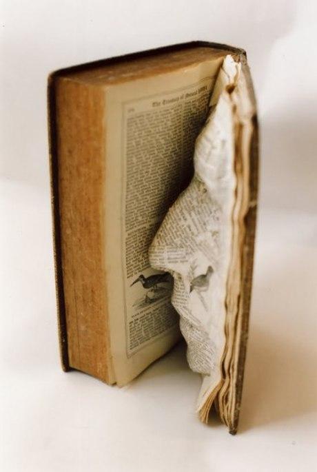 We read book face art sculpture reading 3D print facial person photography photograph image