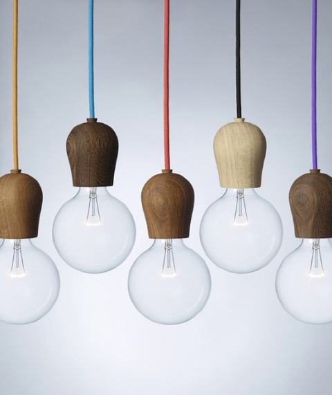 bright sprout nordic tales lamp bulb design product wood timber hanging light norway scandinavia lamp energy saving bulbs