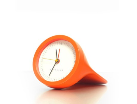 orange watch clock wrist watch modern design minimal colour colorful  alarm clock image photo