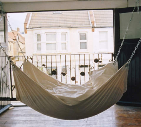 hammock bed hanging bedroom sleeping play cool flat living house bed air photogaphy buy product photo image view interior design produc gadget architecture