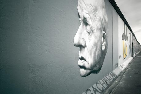 berlin wall graffiti painting memory mauer historical political portrait warschauer strasse wall art gallery art travel
