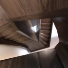crazy wooden stairs