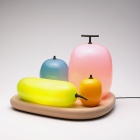 Fruits Wall Lamp and Fruits Table Lamp from S&O Design2, design, product design, installation, composition , interior design product balloon fruit colourful fruit like cool interior