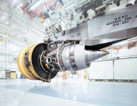 motor aircraft machine airplane boing construction triebwerk jet engine construction factory hall design photograph architecture epic