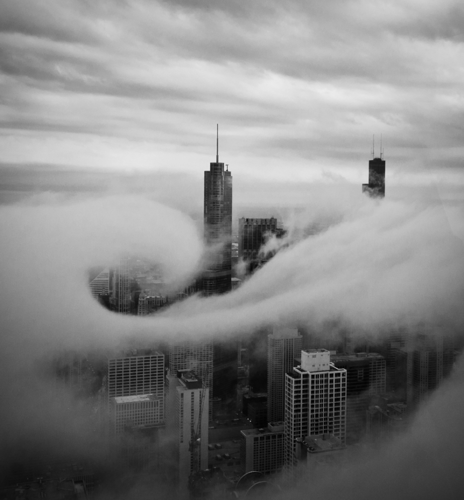 clouds city urban new york sky climate black and white photography travel traveler photo contest national geographic air movement streams