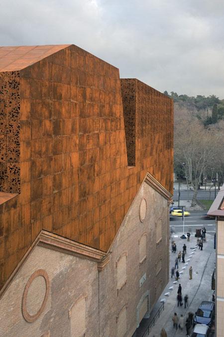 renovation, architecture, refurbishment, restoration, corten, cor - ten, copper, brandnew, Caixa forum, Madrid, travel, destination