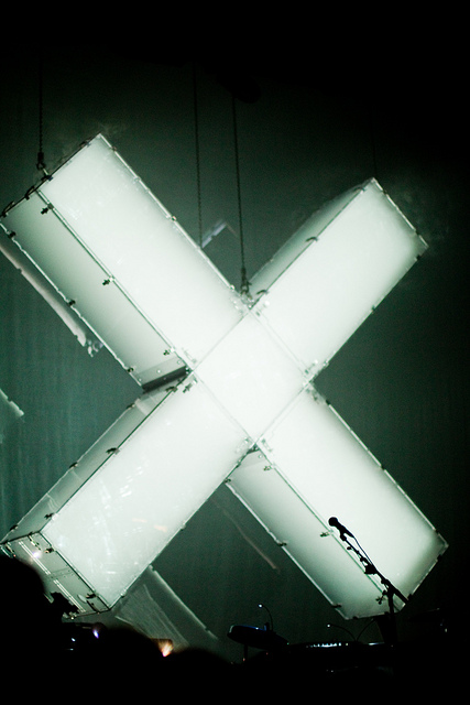 X, vorbidden, light, art, edgy, installation, light installation, lighting, urban, LED, graffiti, letter, sign, exit, deadend, symbol, neon, stage art, performance, concert, xx music