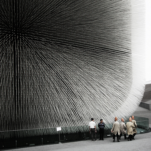 british pavilion heatherwick london uk architecture studio office expo china competition conehead organic seeds dna architecture facade
