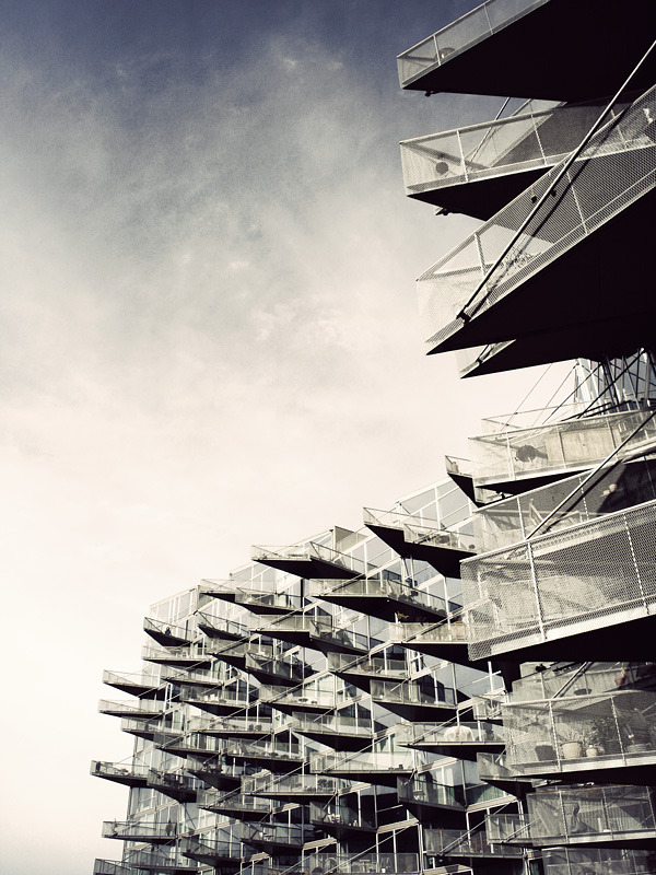 edge architecture balconies organic architecture dutch facade oma sharp triangular shapes cantilever architectural photography wordpress architecture best blog tumblr photography black and white monochrome
