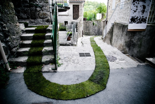 grass path city art installion photogray design blog how to design wordpress blog tumblr great sustainable interactive art installation