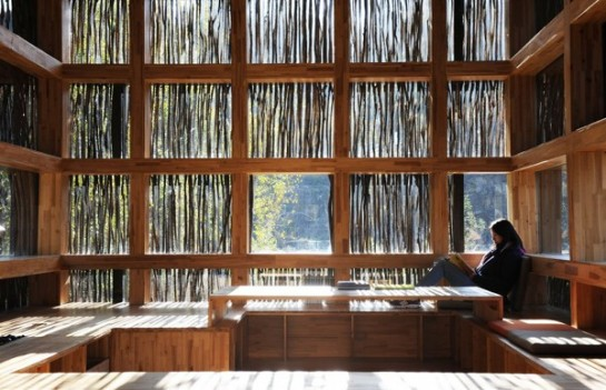 Liyuan Library by Li Xiaodong Atelier china timber architecture reading books beautiuful architecturall photography blog best wordpress