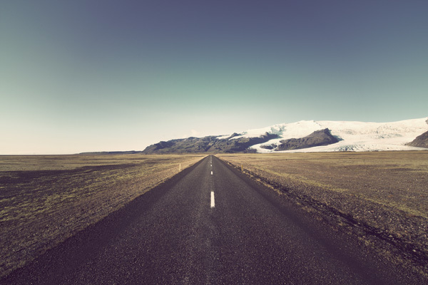 road trip iceland stunning beautiful landscape photography tumblr straight street pavement horizon endless infinite road art best photography blog wordpress