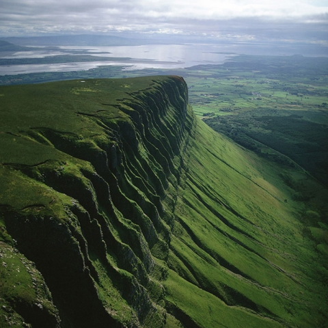 ben bulben ireland mountain