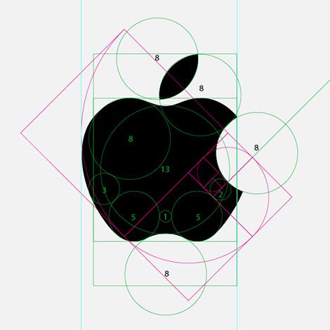 apple logo design graphic how to radius circumference golden ratio art tips guide