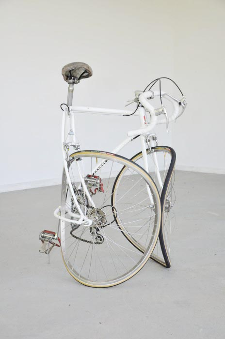 bike sculpture bicycle biking art installation exhibition artist kunst arts photography deconstruction twisted