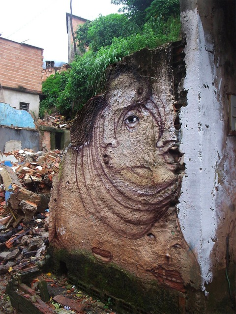 Andre Muniz Gonzaga Dalata Transforms Run Down Urban Centres Using Street Art