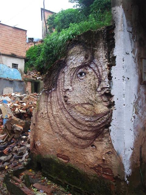 Andre Muniz Gonzaga Dalata Transforms Run Down Urban Centres Using Street Art