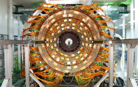 large hadron collider cern switzerland physics experiement atom particles construction technology photograph high resolution