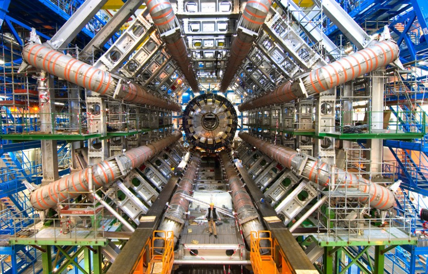 large hadron collider cern switzerland LHC atlas experiment technology physics
