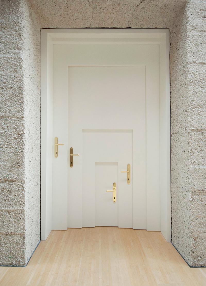 Armin Blasbichler - Inception Door (2011)  inception the movie art work leonardo di caprio architect interior living sculpture