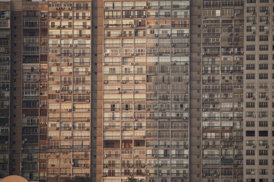 city block by stefan skiera suburbs egypt cairo, architecture dense social housing towers blogs urban space planning