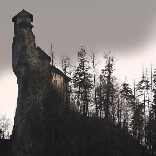 Orava Castle, Slovakia Architecture : romanesque, gothic, renaissance, baroque hill mountain travel adventure nature landscape photography