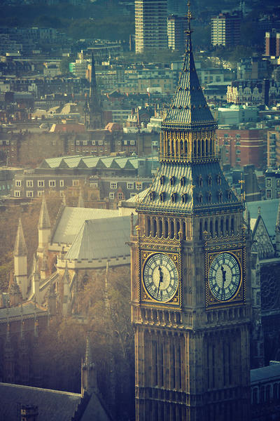 big ben london uk clock roofs skyline aerial photograph beautiful architectural view of london and sight seeing tourist holiday travel visit