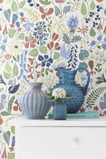 modern interior design wallpapers by scandinavian designers graphic geometric pattern interio architecture