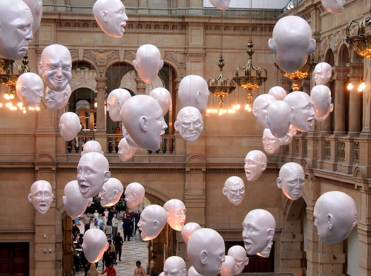 Floating Heads by Sophie Cave