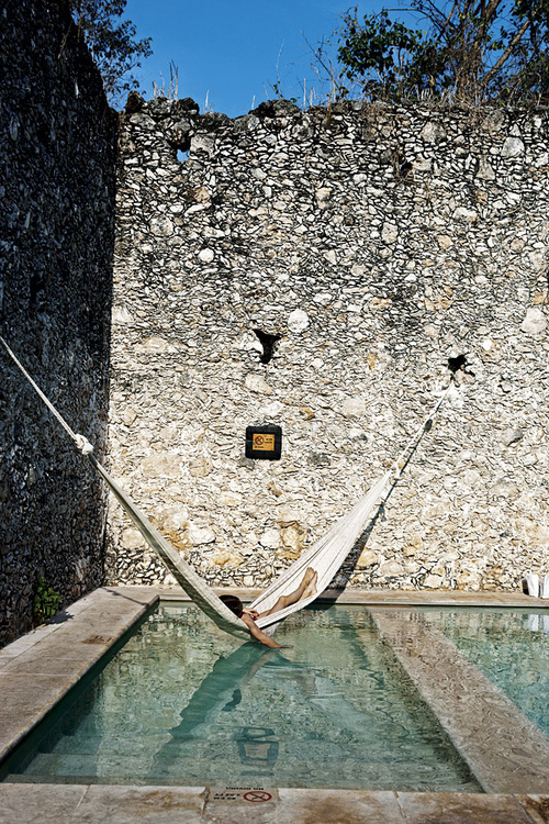 hammock holiday spa resort rest relax hangin in pool travel photography sleeping