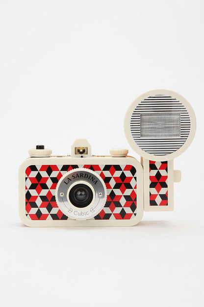 lomography camera La Sardina Cubic Camera & Flash cool camera photography pattern texture lomography buy show gift fun vibrant camera lomo