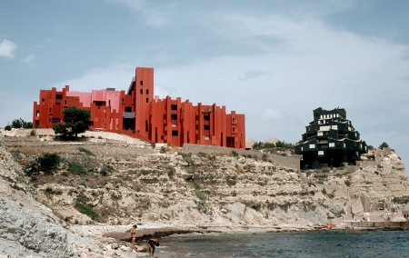 red spain architecture mediterranean residential vernacular color architecture use of colour de moura striking landscape architecture photography