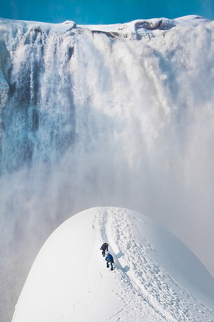 snowboarding skiing moutain snow winter holiday travel adventure waterfall mountains hiking peak season landscape photography amazing picture