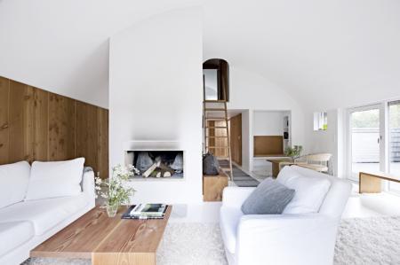 Beautiful, modern Scandinavian Interior Design architecture norway white minimalistic timber elegant tones grey textures furniture